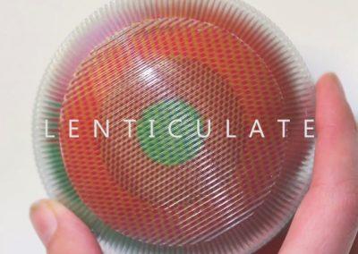 Lenticulate